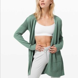 Lululemon Sincerely Yours Sweater - Tidewater Teal